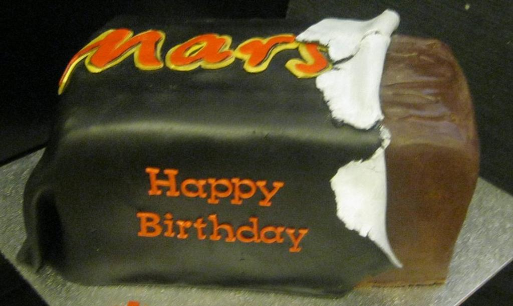 Mars Bar Cake by Essentially Cakes