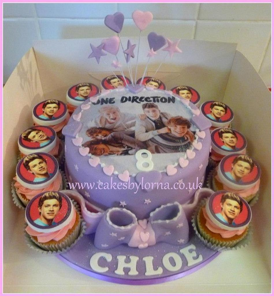 One Direction Girls Birthday Cake by Cakes by Lorna