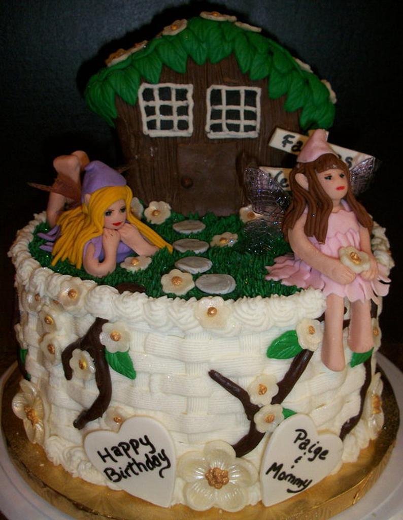 Fairy Cake by Tracy's Custom Cakery LLC