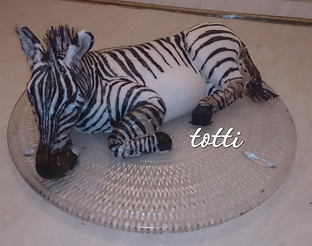 zebra cake by totti
