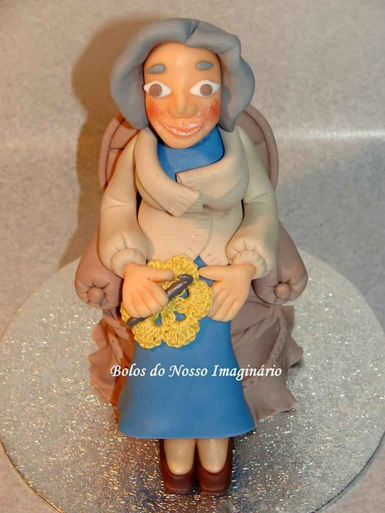 Lady sewing by BolosdoNossoImaginário