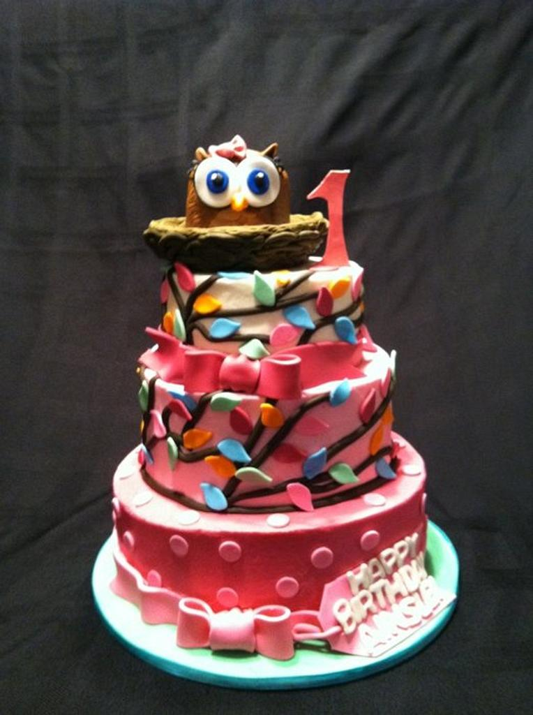 Look Whooos turning 1 by kimma