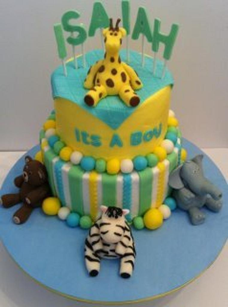 Baby Shower Cake---It's a BOY!!! by unctoothlady