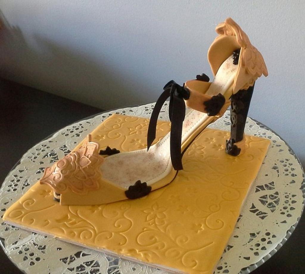 "High Heel Shoe by June (""Clarky's Cakes"")"