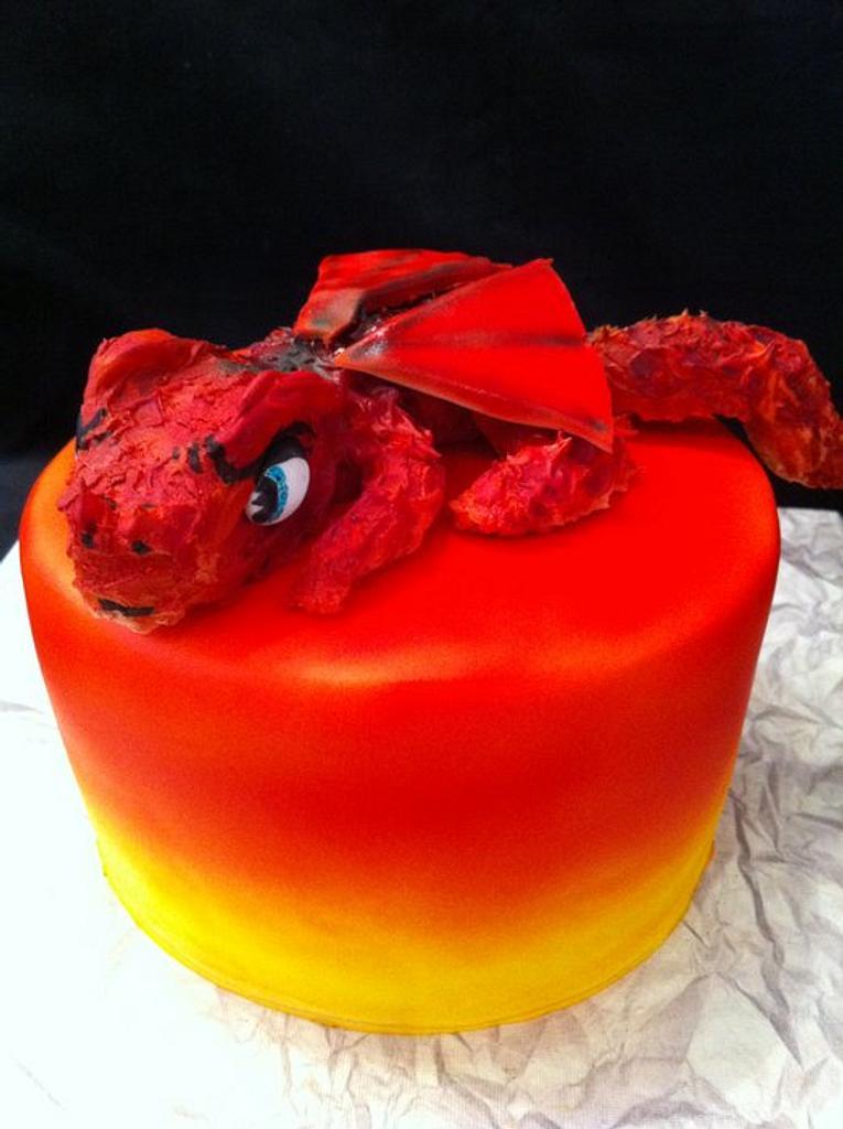 Dragon cake by sasha