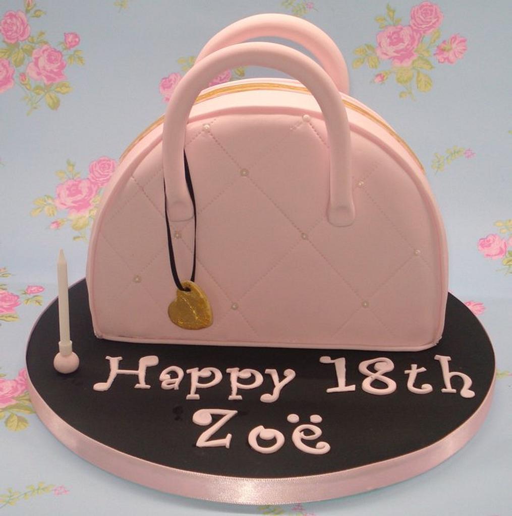 Handbag cake by That Cake Lady