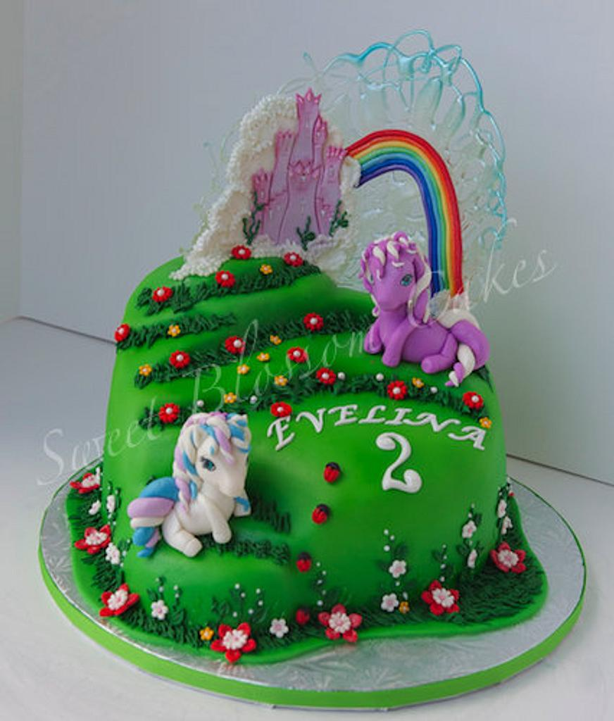 Two little ponies by Tatyana