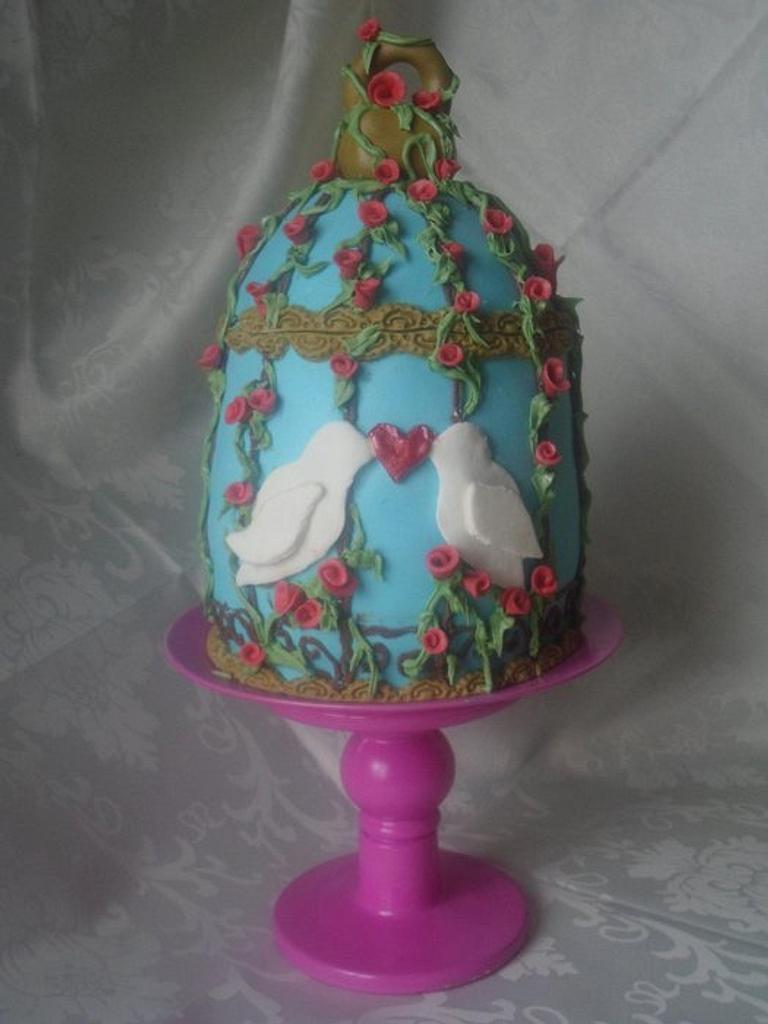 Birdcage Cake by Rebecca Kenny