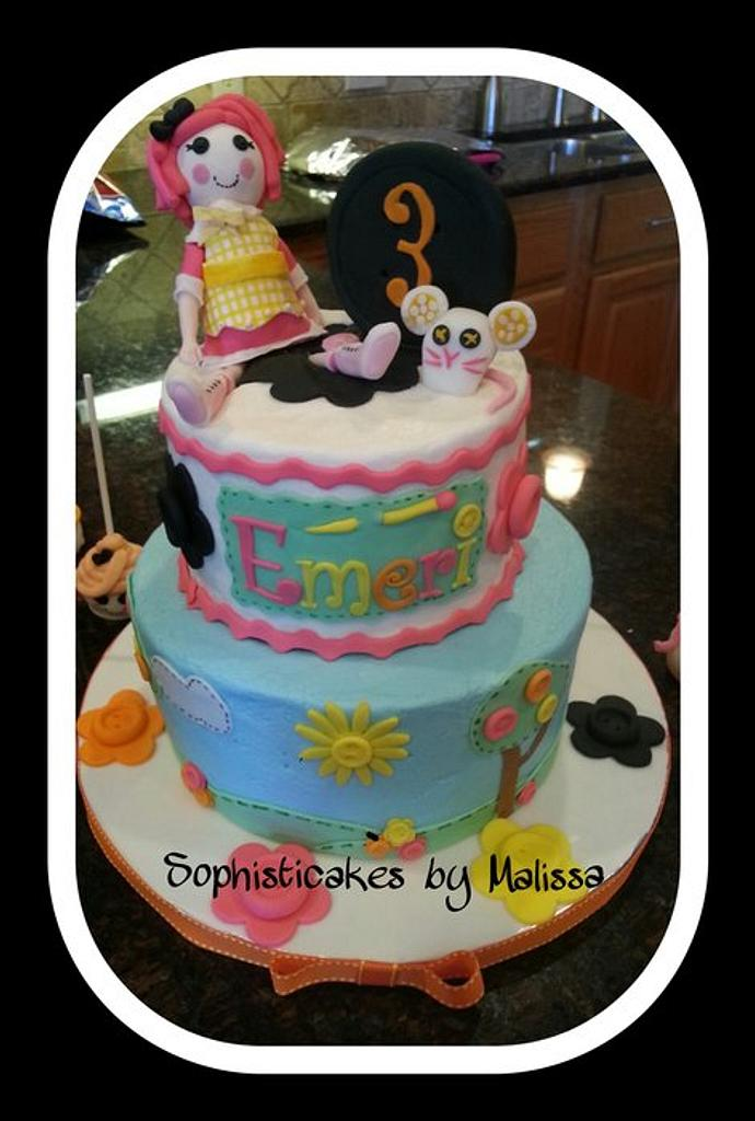 Lalaloopsy Cake by Sophisticakes by Malissa