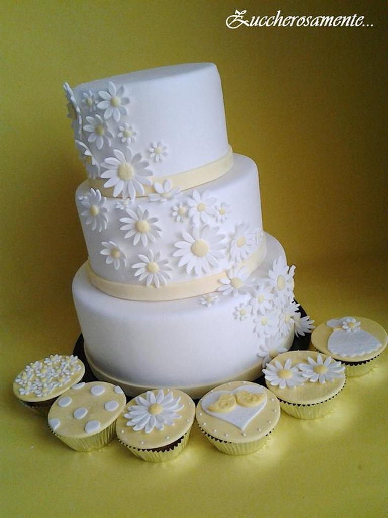 Daisy cake by Silvia Tartari