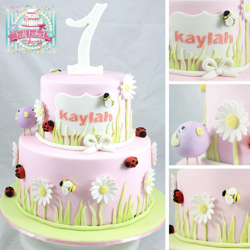 bees, birds and bugs by Sheridan @HalfBakedCakery