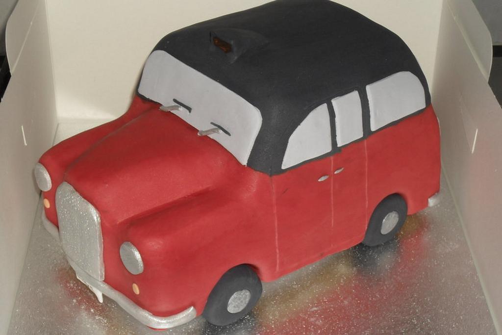 Taxi Birthday Cake by David Mason