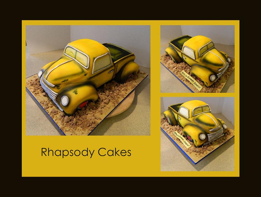 Chevy Truck Cake by LisaRhapsodyCakes