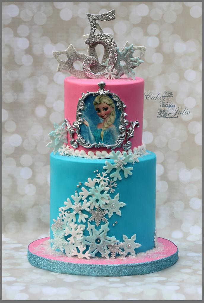 Frozen Birthday Cake! by Cakes By Julie