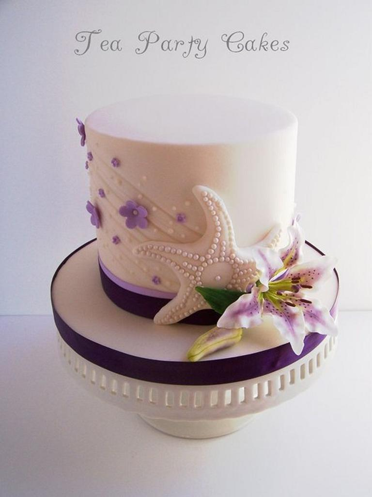 Starfish and Stargazers by Tea Party Cakes