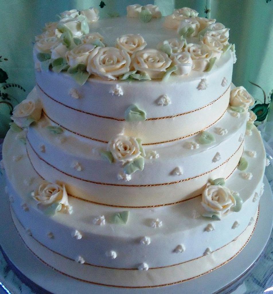 Wedding Cake by Venelyn G. Bagasol