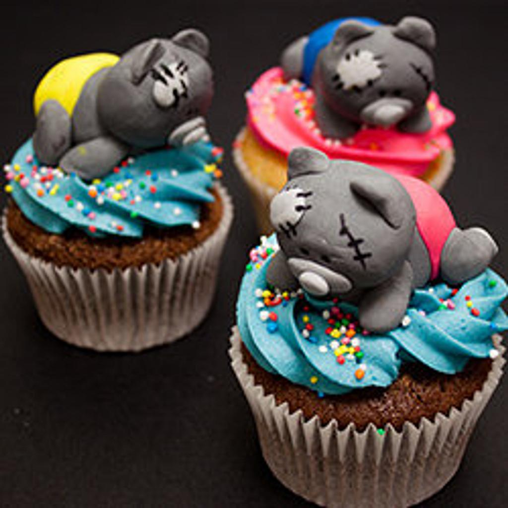 Tatty Teddy Cupcakes by Paula R
