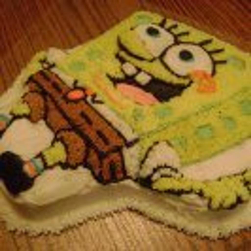 Spongebob Cake by Kathie