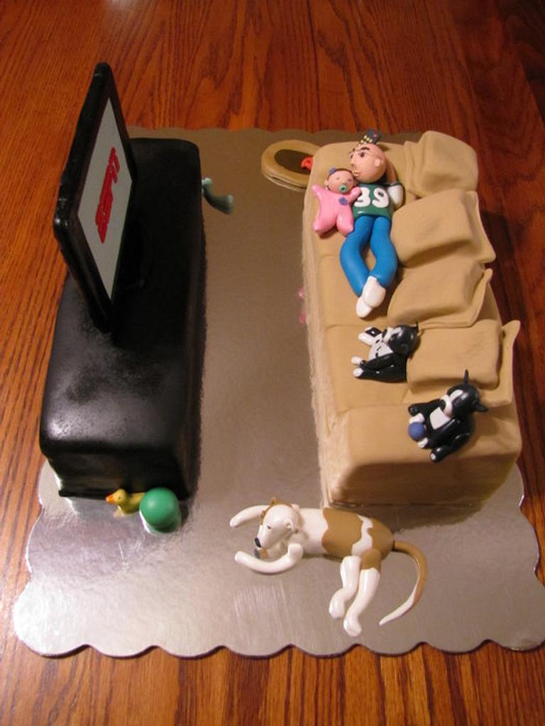 Just Laying Around Cake by Lani Paggioli