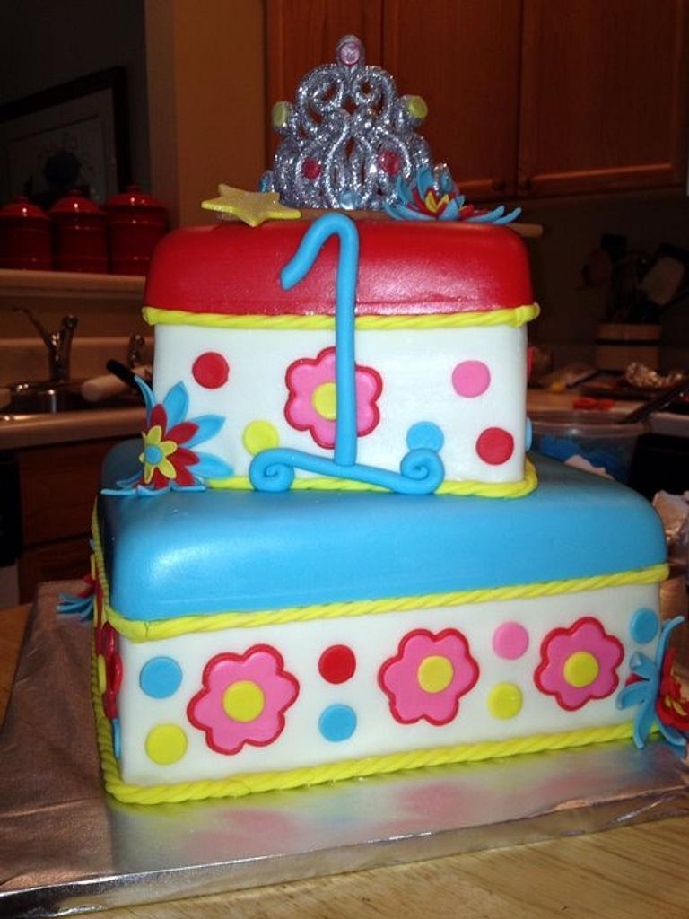 Bella's 1st birthday by kathy