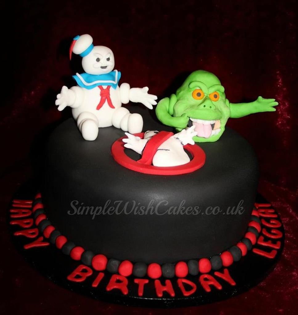 Ghostbusters Cake by Stef and Carla (Simple Wish Cakes)