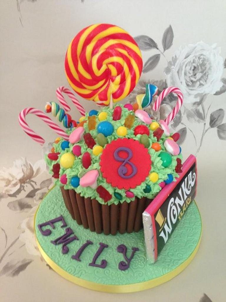 Charlie & The Chocolate factory cake by Samantha