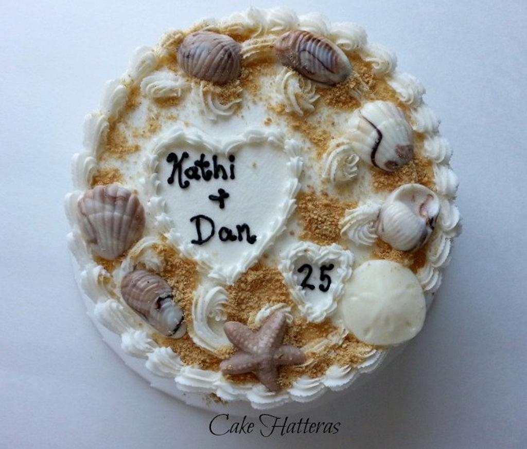 Beach Anniversary by Donna Tokazowski- Cake Hatteras, Hatteras N.C.