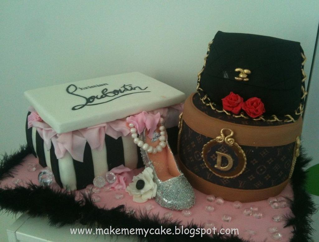 Fashionista cake!! by Eva Salazar