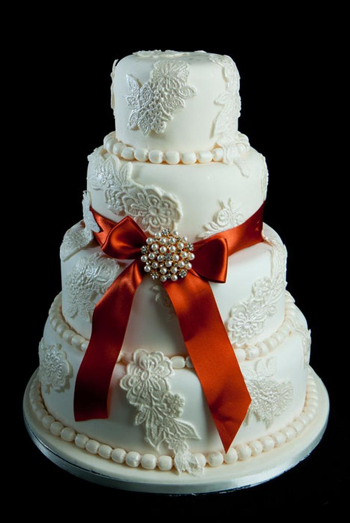 Lace and Rusty Ribbon by Sugar, Ice and All Things Nice