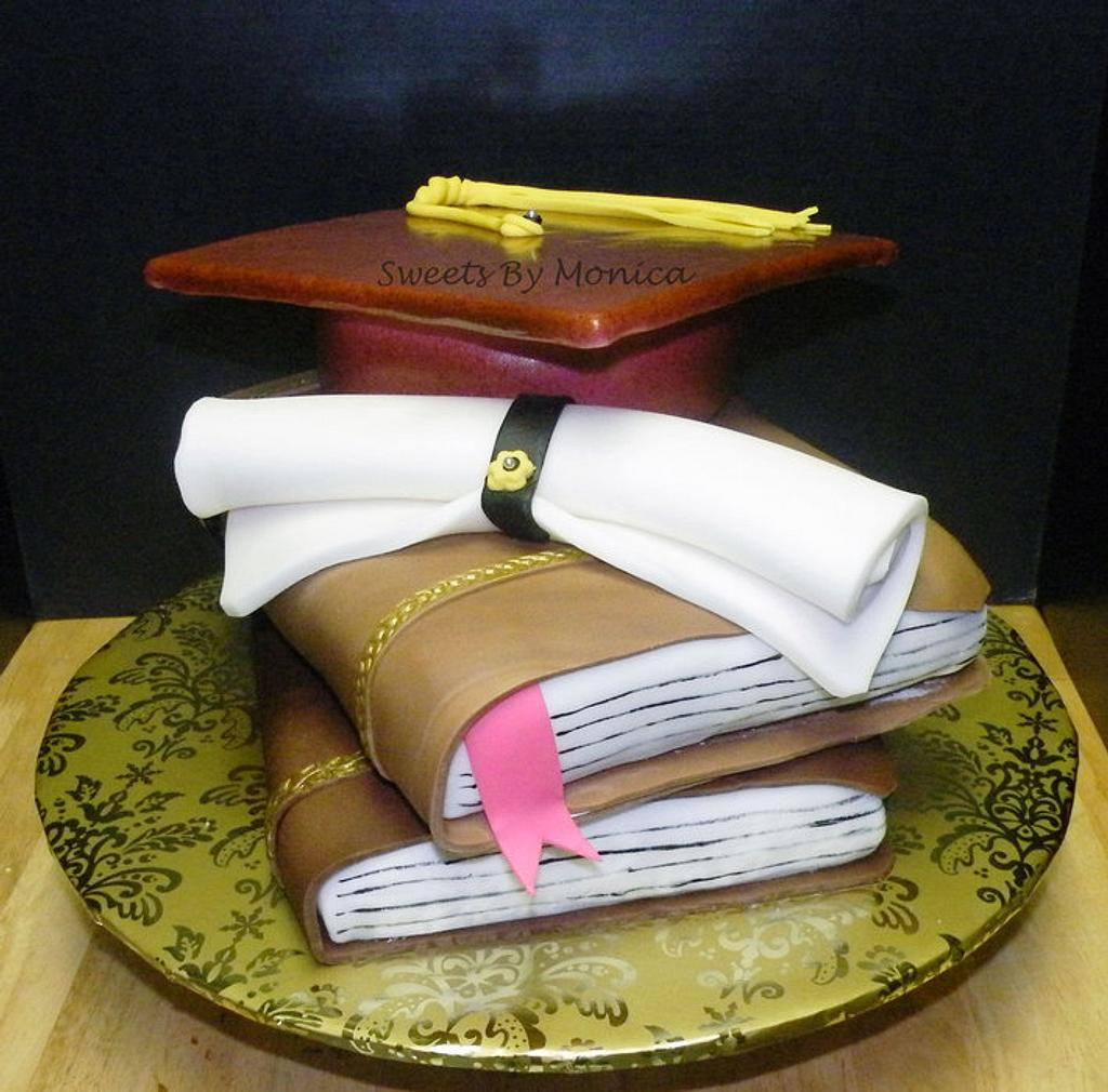 Graduation Cake by Sweets By Monica
