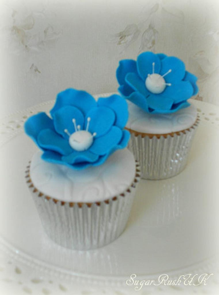 True Blue Cupcakes by Syma
