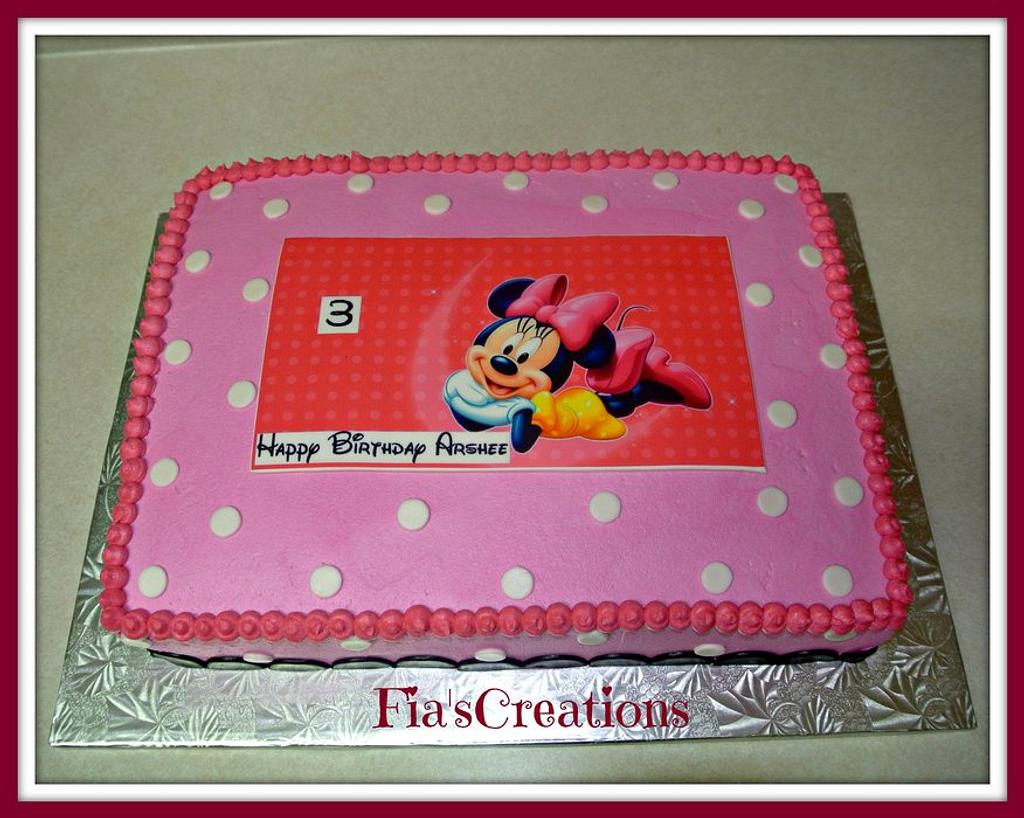 Minnie Mouse  by FiasCreations