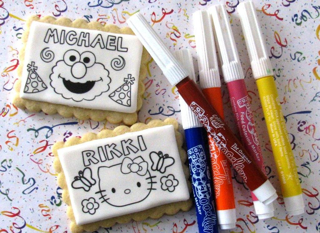 Personalized Cookies by Cheryl