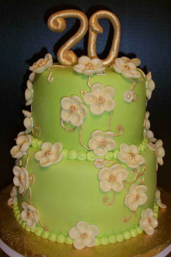 70th Birthday by Tracy's Custom Cakery LLC