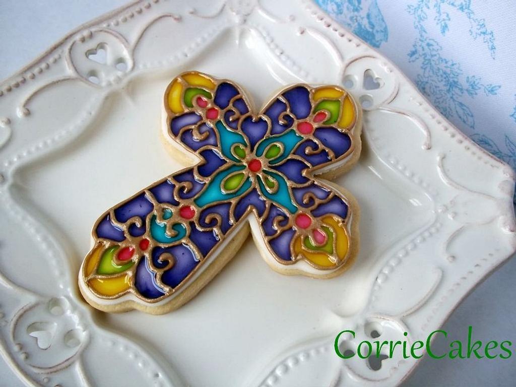 Easter Cross by Corrie