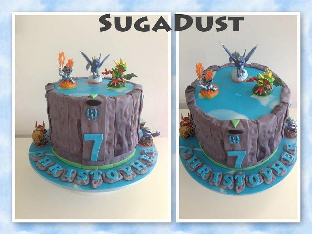 Skylanders Cake by Mary @ SugaDust