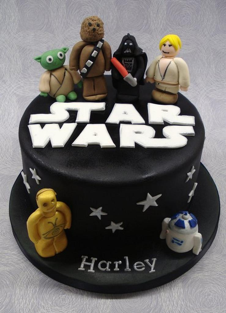 Star Wars cake by That Cake Lady