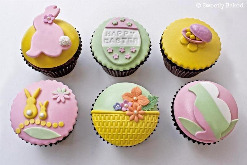 Easter cupcakes by SweetlyBaked