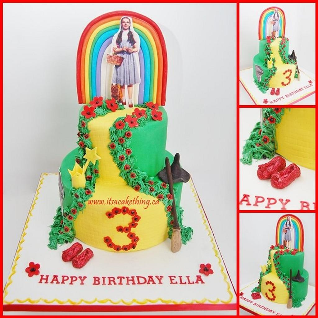 The Wizard of Oz Cake  by It's a Cake Thing