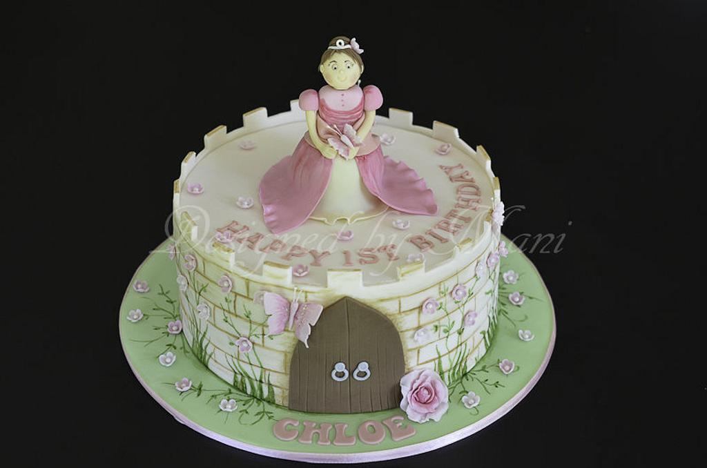 princess &the  castle. by designed by mani
