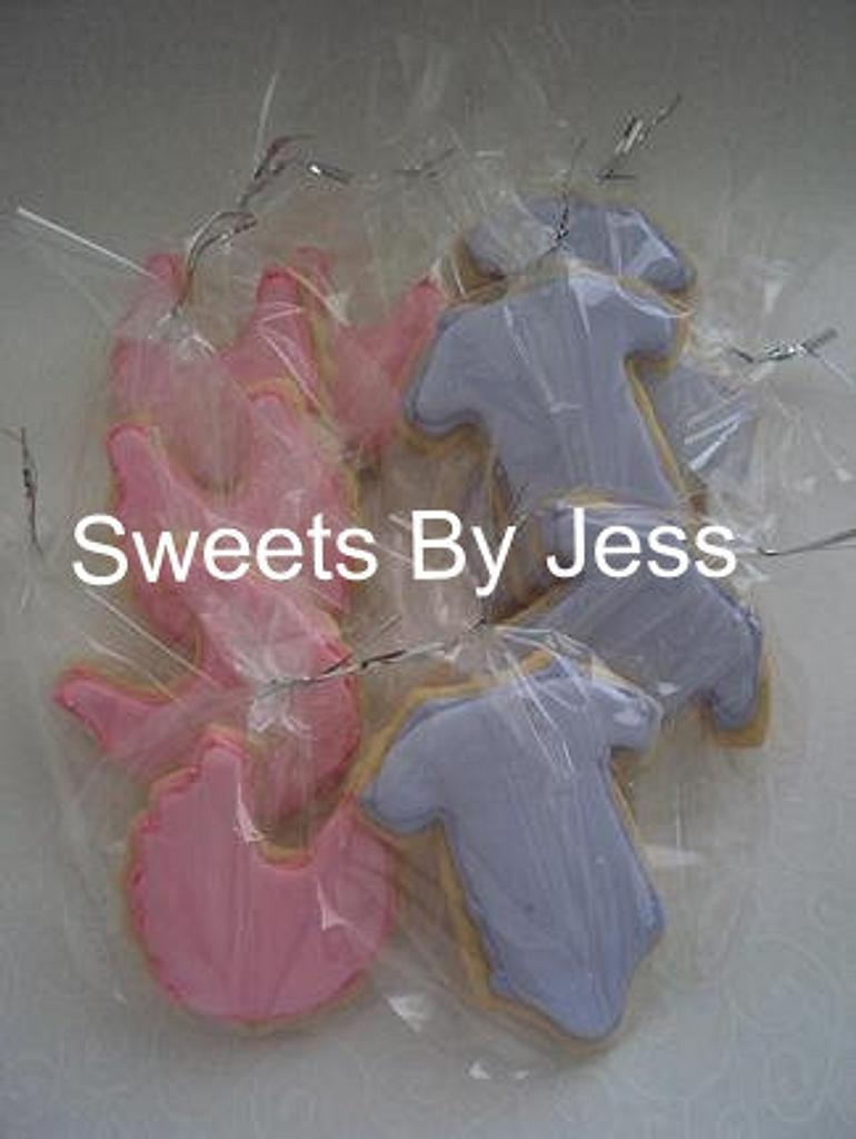 Baby Shower cookies by Jess B