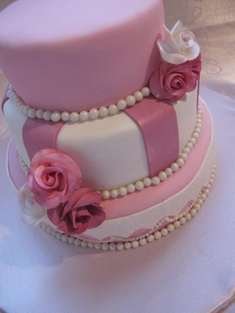 Pink and Pearls by Elyse Rosati