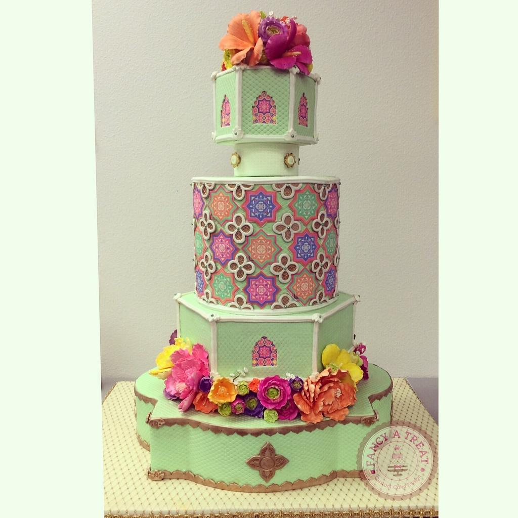 Moroccan Themed Birthday Cake by Fancy A Treat
