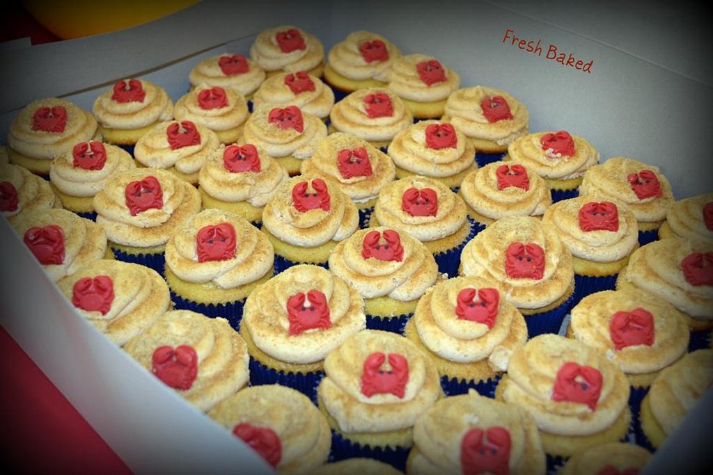 Crab cupcakes by Jamie Dixon