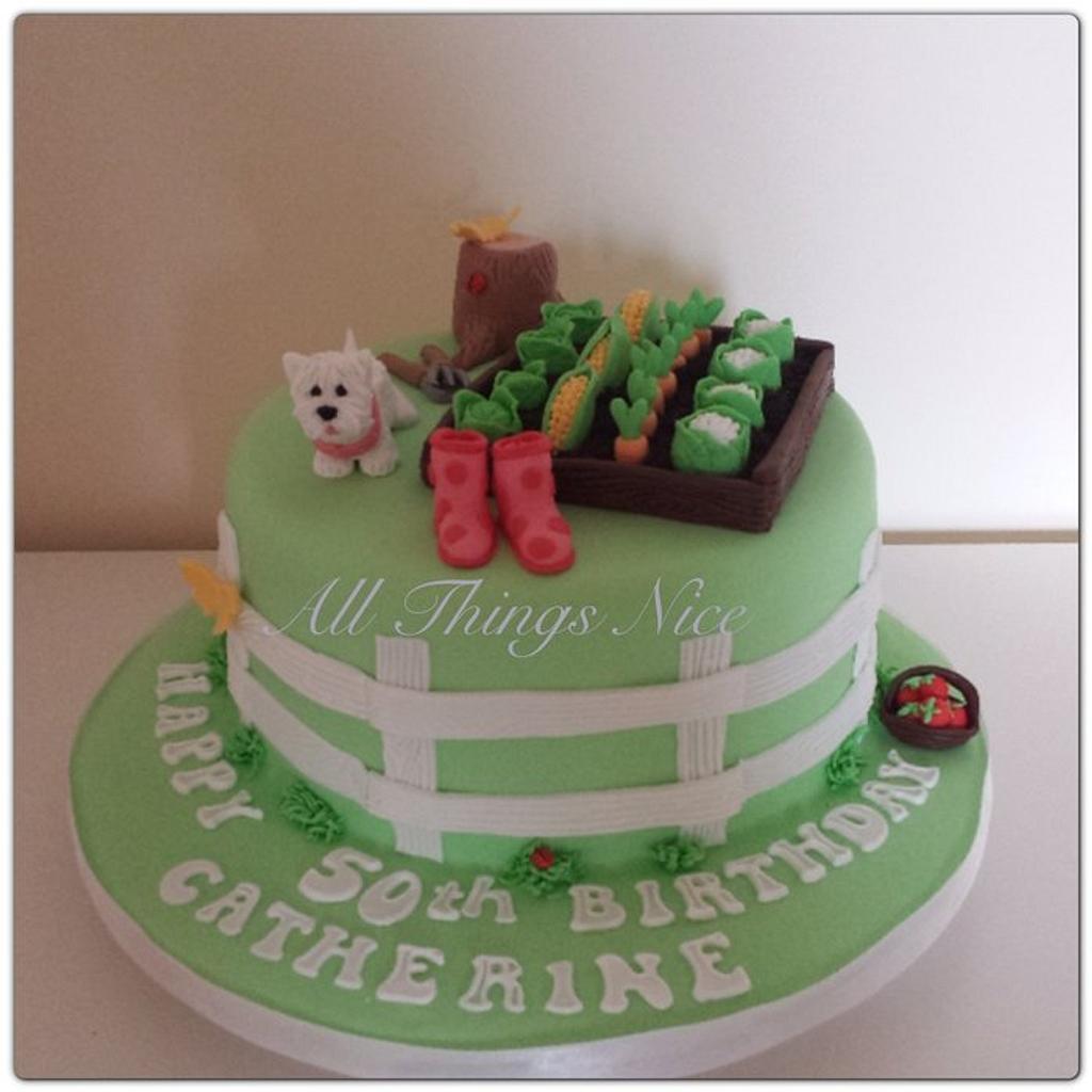 Gardeners cake  by All things nice