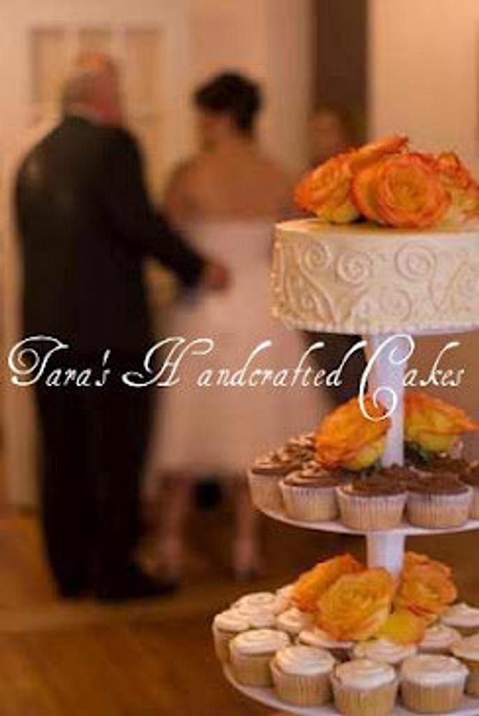 cupcake wedding by Taras Handcrafted Cakes