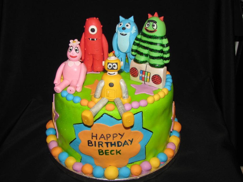 Yo Gabba Gabba Cake by Lani Paggioli