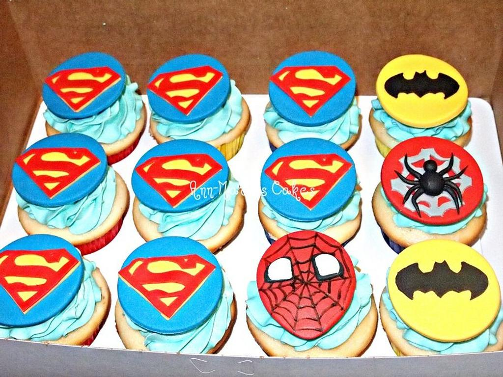 Super Hero Cuppies by Ann-Marie Youngblood