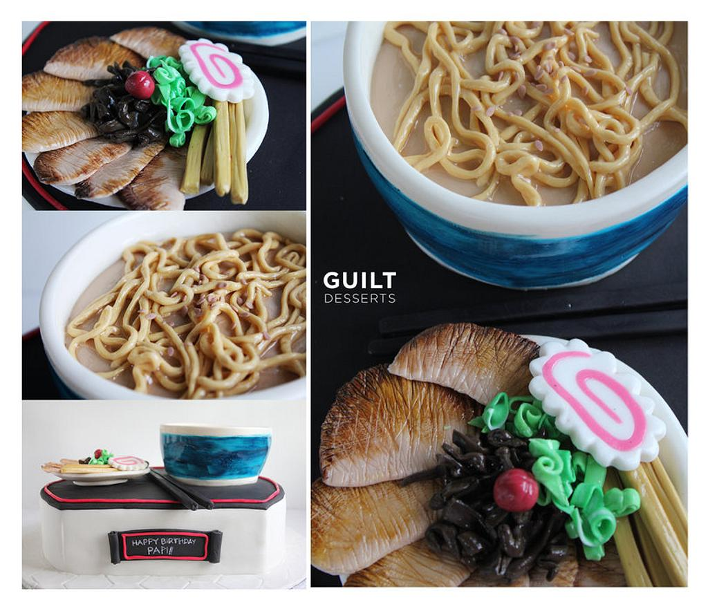 Santouka Ramen Cake by Guilt Desserts