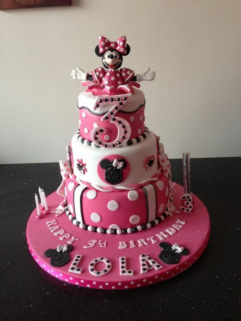 minnie mouse  by Donnajanecakes